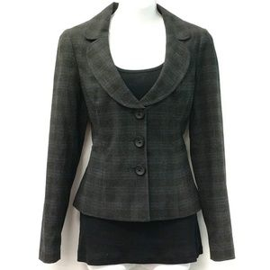 Suit Jacket, charcoal/navy, EXCELLENT CONDITION